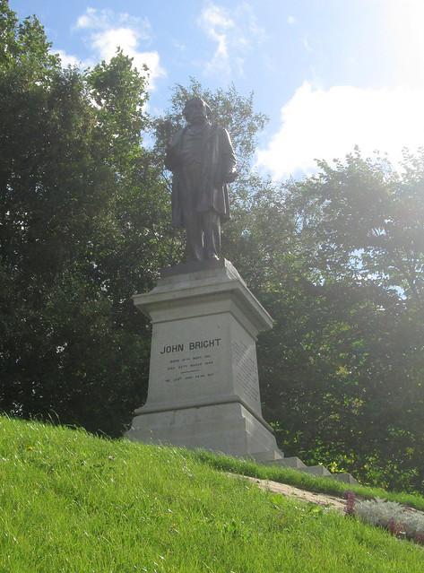 John Bright Statue, Rochdale