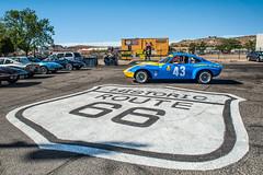Opel GT auf der Route 66