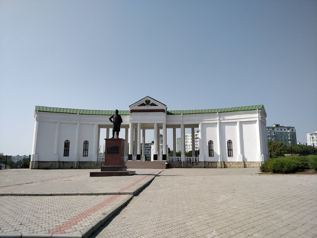 A memorial in Transnistria