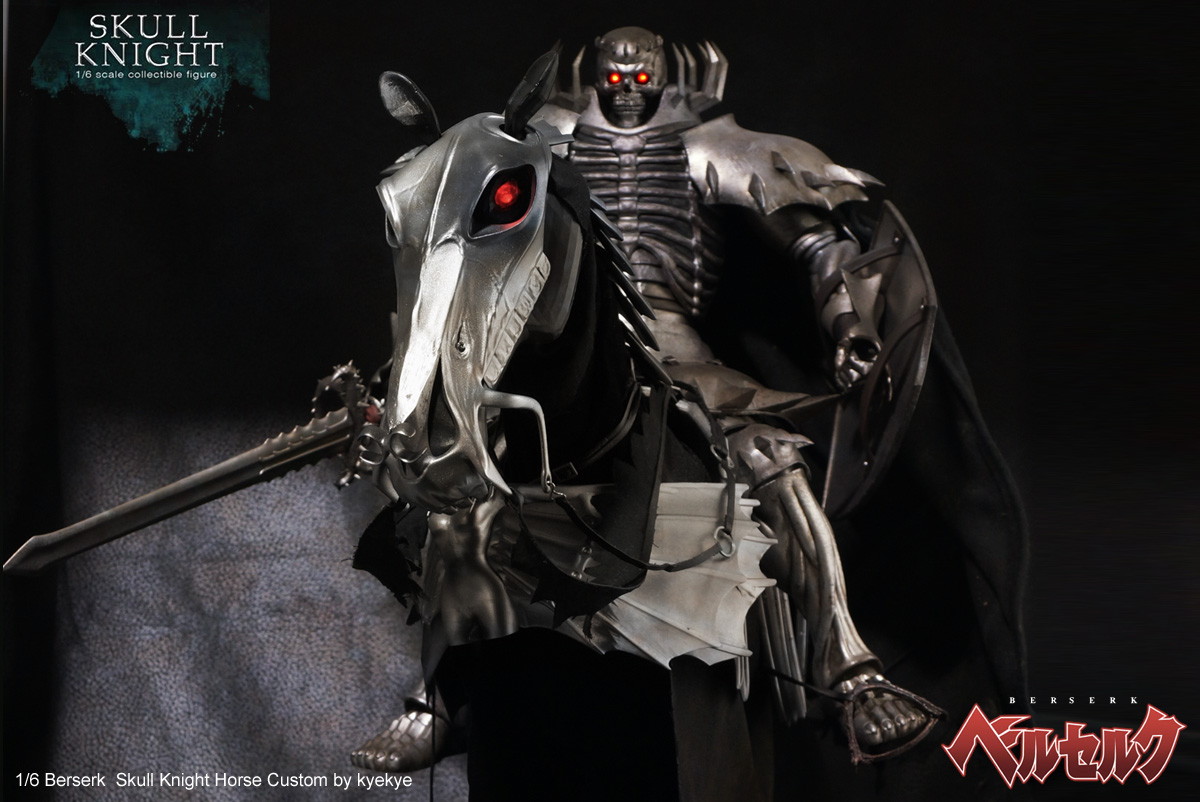 1/6 scale horse armor custom for Skull knight from [Berserk] 43767865694_831531236a_o