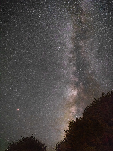 Mars and the Milky Way II | by Peter Alfred Hess