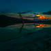 Sunset Hierve el Agua Oaxaca Mexico por miguenfected