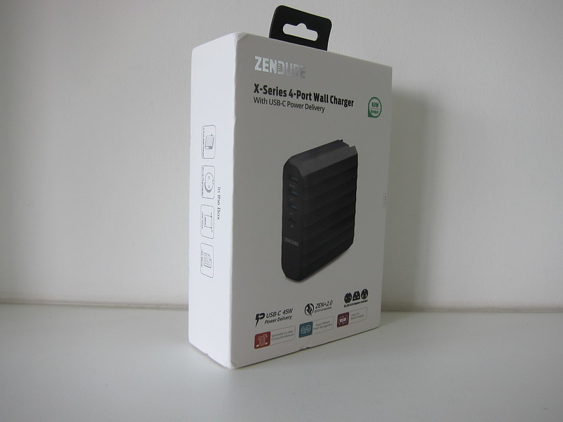 Zendure 63W USB-C PD Charger - Box