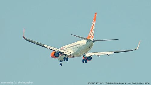 BOEING 737-8EH (Gol) PR-GUA (Papa Romeu Golf Uniform Alfa)
