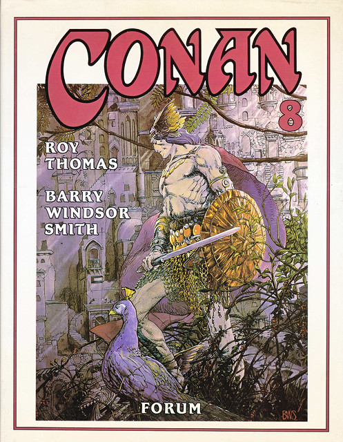 Conan de Roy Thomas y Barry Windsor Smith 08 -01- Portada