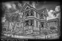 Dr Hart's Mansion (monochrome)