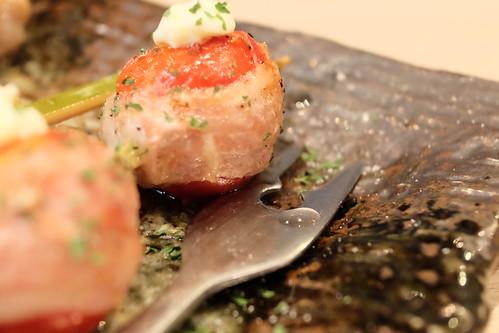 トマトの豚巻チーズ