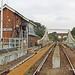 Reedham swingbridge Keith DeLargy on steps 140818