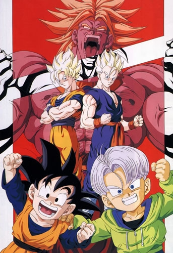 Anime Dragon Ball Z Movie 10