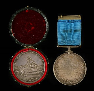 Life Saving Benevolent Association of New York Medals 2