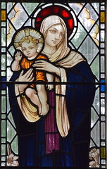 Blessed Virgin and child (workshop unknown, 1936)