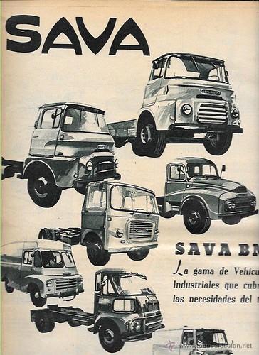 publicitat vehicles Sava 1964