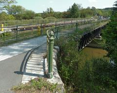 Coulée verte du canal de Montbéliard à la Haute-Saône