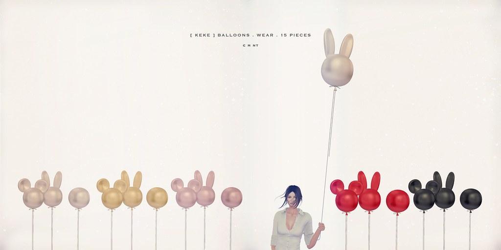 [ keke ] ballons wear