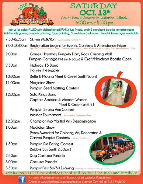Pumpkin Fest 10-13-18