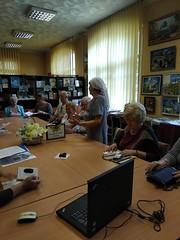 """Засідання клубу """"Кияни"""" 09.09.18 О. Грибоєдова"""