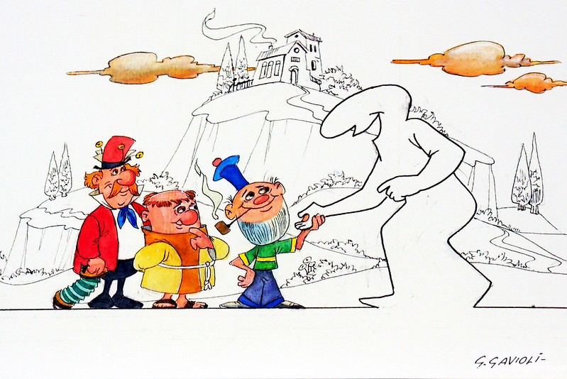 Рисунок Джино Гавиоли