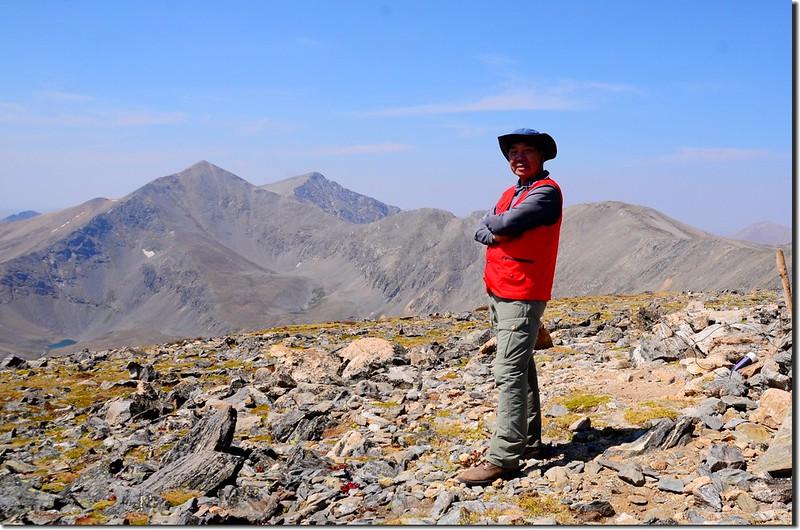 Me on the summit of Argentine Peak