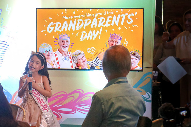 Grandparents' Day at SM Supermalls + Win SM Gift Certificates!