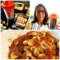 Thank you so much @filipa.vicente for hand delivering samples of @nuzest_thailand #vegan protein powder! Mixed perfectly into my #proats! So glad to have another tasty :yum: vegan protein powder option available in Bangkok!