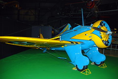 Boeing P-26A Peashooter, National Museum of the US Air Force, Dayton, Ohio.
