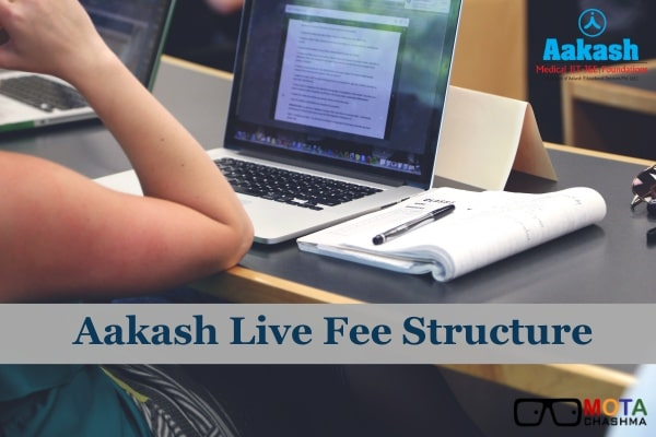 aakash live fee structure
