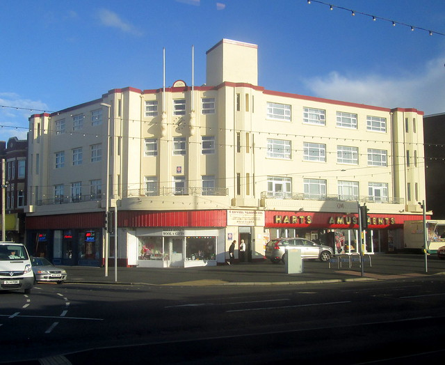 Art Deco Queen's Mansions Blackpool
