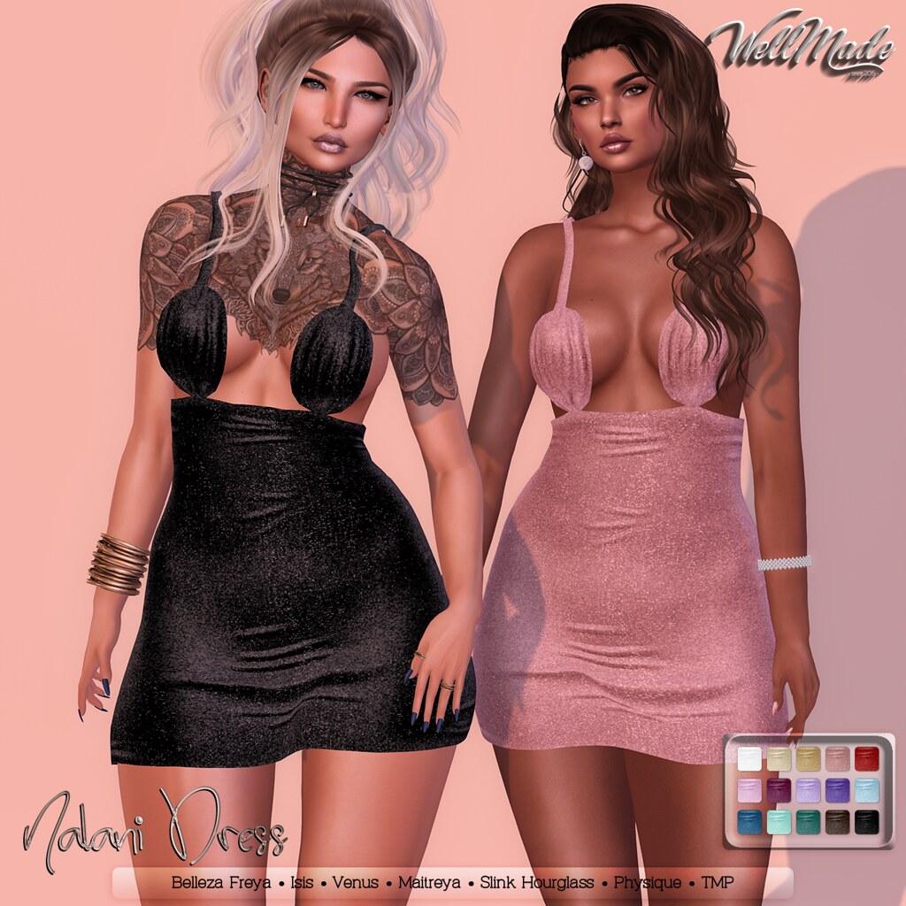 [WellMade] Nalani Dress