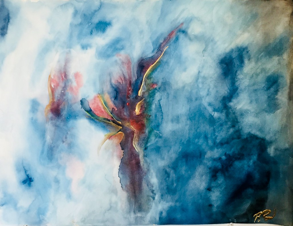 Rebecca Pons, BECCA PONS + CREATIVE, watercolor, fine art, HOME, 7 WAYS Collection, Artist