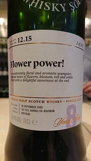 SMWS 12.15 - Flower power!