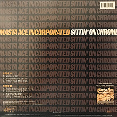 MASTA ACE INCORPORATED:SITTIN' ON CHROME(JACKET B)