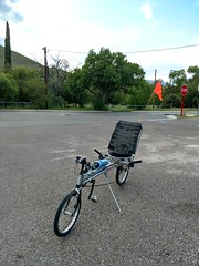 Linear Recumbent Bicycle