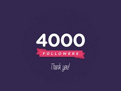 4000 FOLLOWERS!!tHANK YOU!
