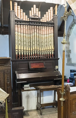 Bucknall (Lincs) St Margaret's church organ