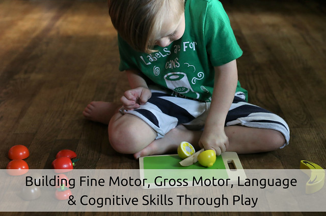 How To Build Fine Motor, Gross Motor, Language, and Cognitive Skills Through Play (Featuring Cubbie Lee Toys)