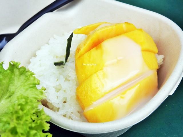 Honey Mango Sticky Rice