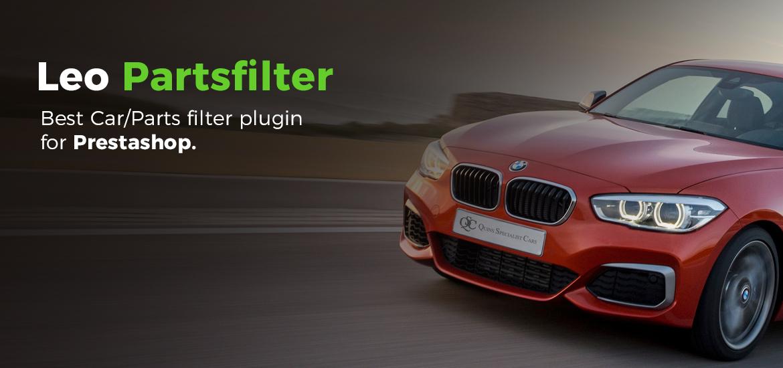Prestashop Car/Parts Filter Module - Make/Model/Year