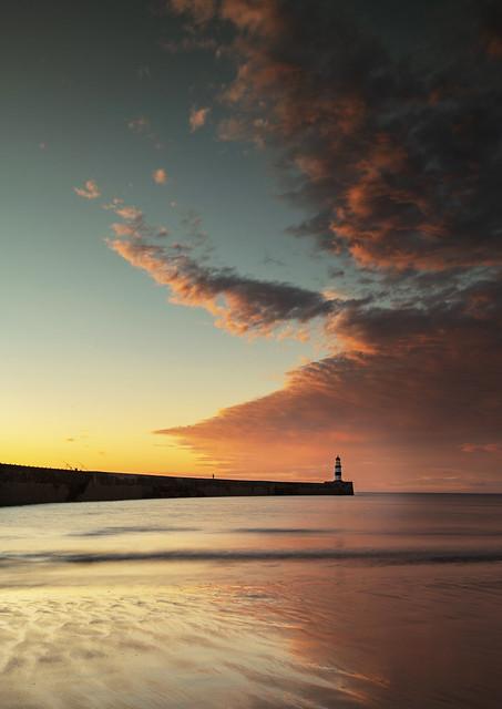 Seaham Sunrise, Nikon D850, AF-S Nikkor 16-35mm f/4G ED VR
