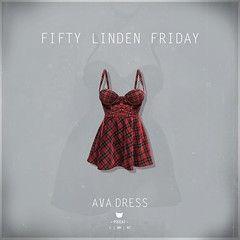 Ava.Dress Plaid - FLF