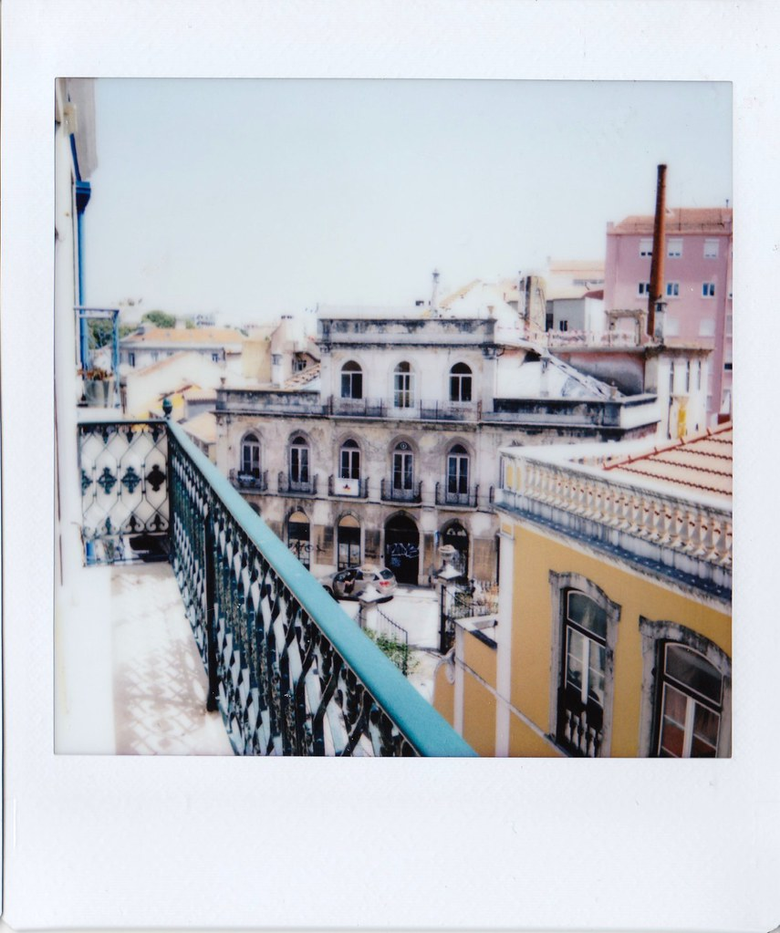 01.08.18 Lisbon Apartment View Instax