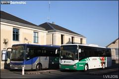 Irisbus Arway - STI Allier (Société des Transports Interurbains de l'Allier) (RATP Dev) / Auvergne & Iveco Bus Crossway - Faure Corrèze Autocars / Limousin