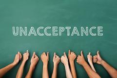 unacceptance