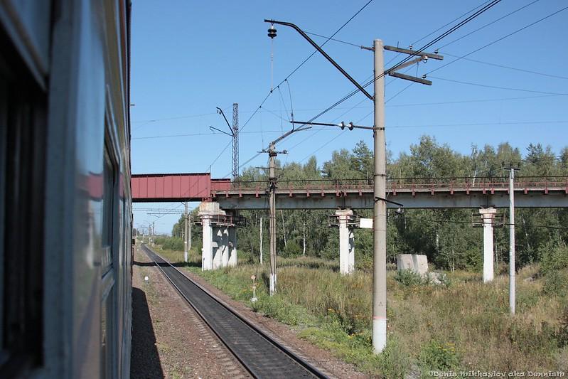 Мост Южной петли БМО около станции Нерская.