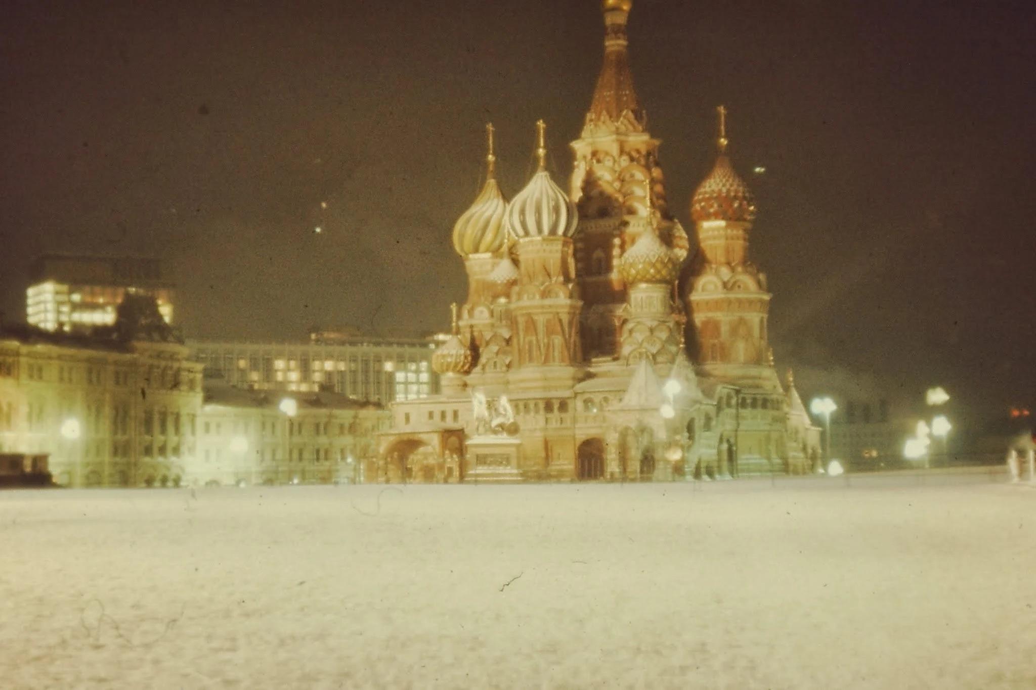 Красная площадь с Собором Василия Блаженного