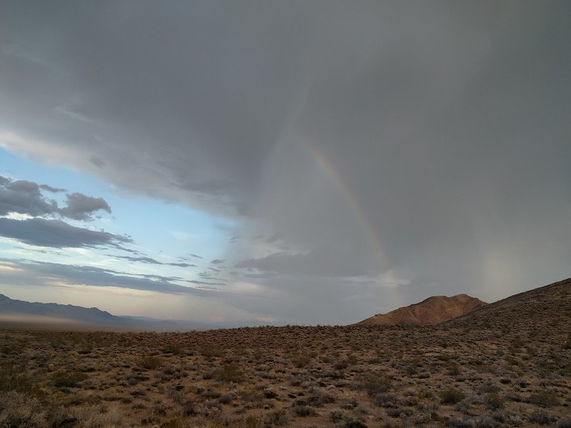 Day 43 – NV to AZ via a rainbow-infested Death Valley – A