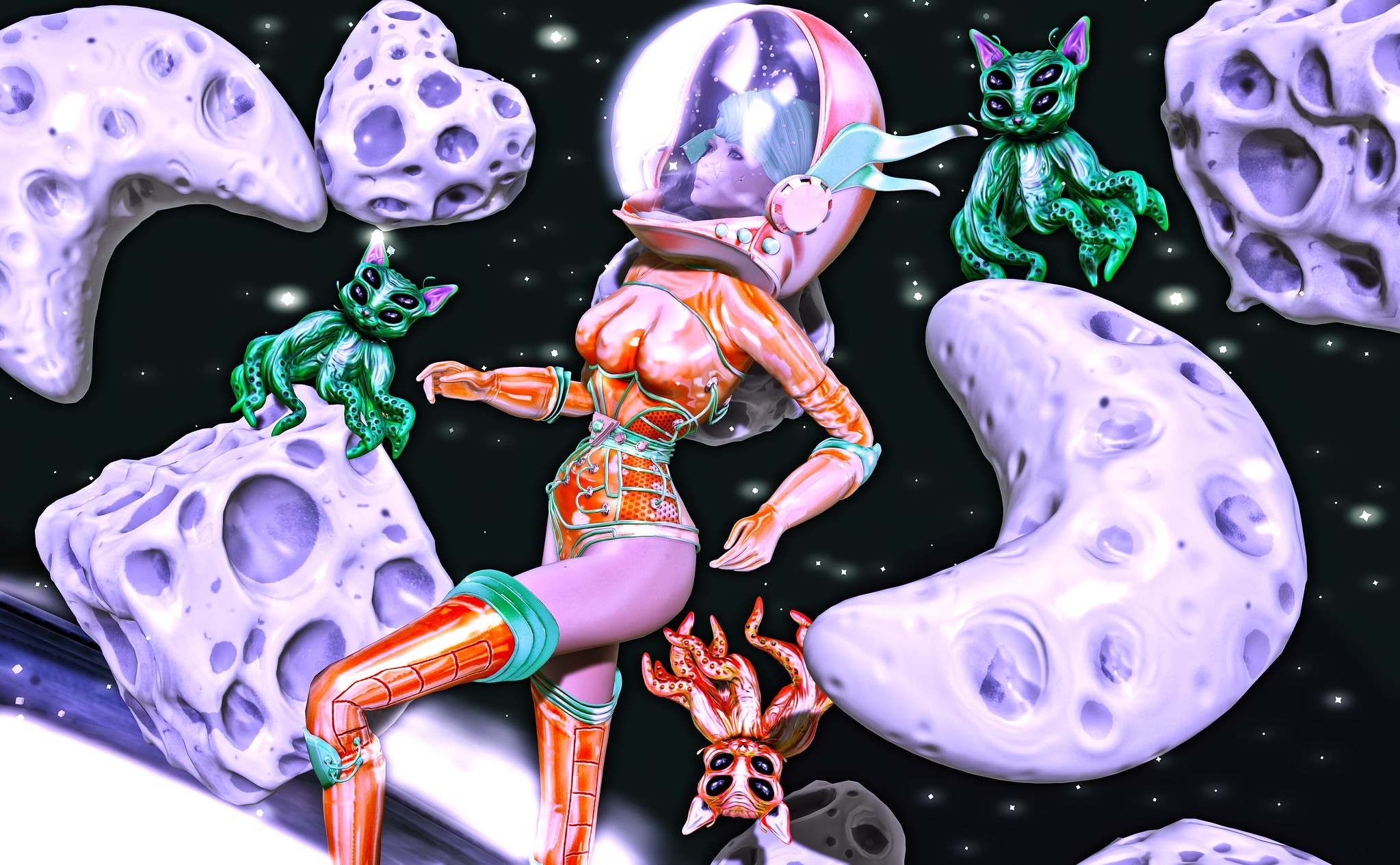Outer Space Adventurer
