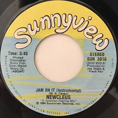 NEWCLEUS:JAM ON IT(LABEL SIDE-B)