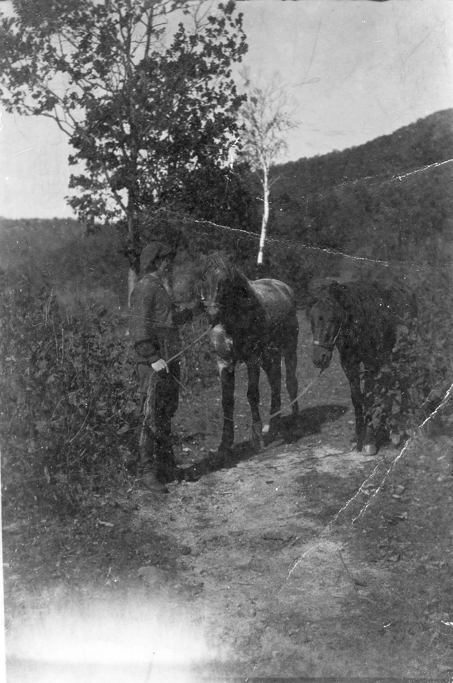 Участники Верхнесучанской экспедиции М. А. Павлова