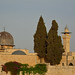 Jerusalem / Old City / Dome and tower / Above the Wailing Wall