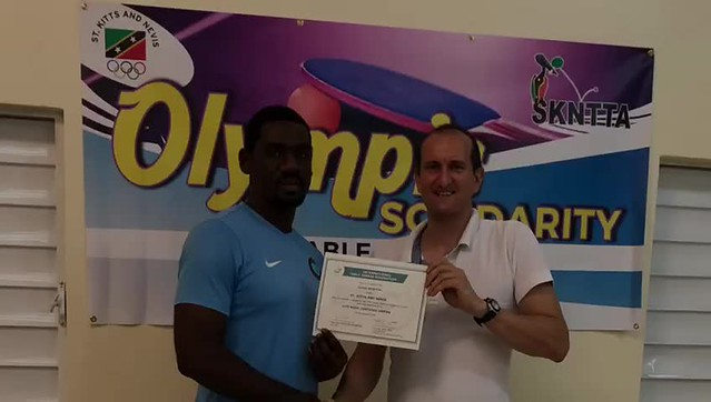St Kitts and Nevis - 2018 ITTF Basic Umpires Course